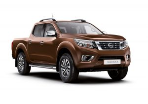 Earth Bronze Nissan Navara Tekna