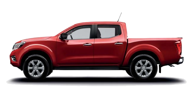 Nissan Navara Acenta in Red