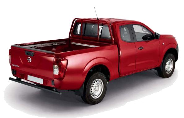 Nissan Navara Visia in red