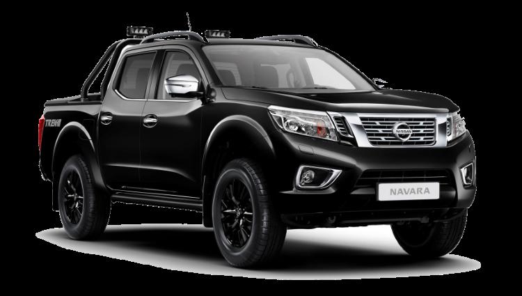 Black Nissan Navara Trek-1 Special Edition