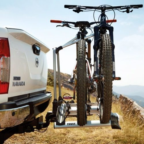TOWBAR MOUNTED BIKE RACK - QUICK, EASY ACCESS