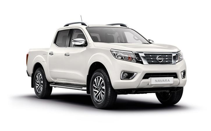 Nissan Navara Tekna White 2020