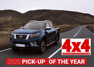Nissan Navara named '2020 Pick-up of the Year' in 4X4 Magazine awards