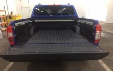 Nissan Navara N-Guard Linex Spray Load Liner