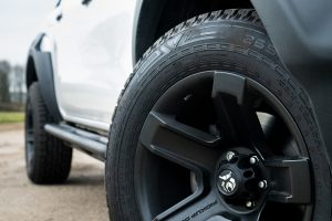 "Nokian All-Terrain Tyres & Unique 18"" Black Alloy Wheels"