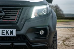Front Bonnet Lip - Combines with the front bumper to frame the headlamps and complete the look