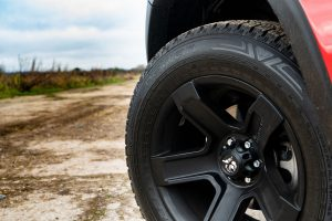 "Unique 18"" Black Alloy Wheels - Stylish and perfectly matched to sit flush with extended wheel arches"